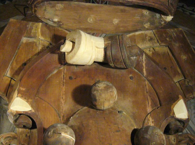 Restauro dell'organo Vasariano